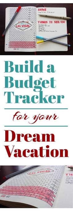 Budgeting is a big step towards planning your unforgettable trip. See how you can easily save up your cash with the help of a… : Budgeting is a big step towards planning your unforgettable trip. See how you can easily save up your cash with the help of a… Bullet Journal Organisation, Planner Bullet Journal, Planner Organization, Bullet Journal Inspiration, Bullet Journals, Journal Ideas, Bullet Journal Vacation, Bullet Journal Savings Tracker, Art Journals