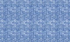 Arabesque Delft  100% Cotton  Approx. 280cm Drop (Railroaded) | V: 65cm H:70cm  Dual Purpose 20,000 Rubs