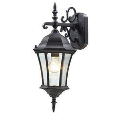 Z-Lite 522s-bk Wakefield Collection Outdoor Wall Light