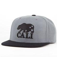 American Needle Cali Bear Mens Snapback Hat 360bc96ca4f