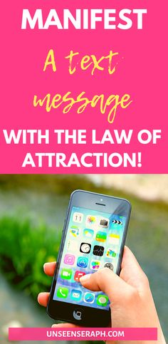 Manifest a text message from a specific person! Today I'm going to show you exactly what to do to manifest a text message from the person of your choice! Manifestation Law Of Attraction, Law Of Attraction Tips, Law Of Attraction Affirmations, Crush Messages, Text Messages, Neville Goddard, Manifesting Money, Thank You God, Whatsapp Message