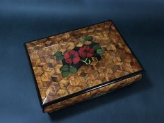 Box from John Sincerbeaux - Brusso Hardware Flying Lessons, Marquetry, Graduation, Woodworking, Projects, Boxes, Hardware, Music, Log Projects