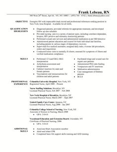 ICU RN Resume Sample Rnresume Net Check Our Rn Resume
