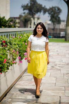 Pinkadicta: La falda amarilla