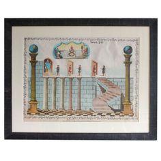 Early Masonic Educational Chart