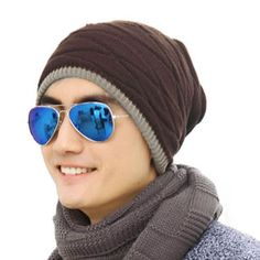>> Click to Buy << 2017 New Fashion High Quality Rhombus Pattern Tricorne Knit Winter Warm Crochet Hat Braided Beanie Cap #Affiliate