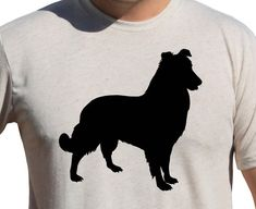 SHETLAND SHEEPDOG SHELTIE Shirt  Dog Breeds by AmericanEcoApparel