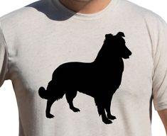 SHETLAND SHEEPDOG SHELTIE Shirt  Dog Breeds by AmericanEcoApparel