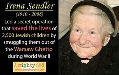 Image result for irena sendler quotes