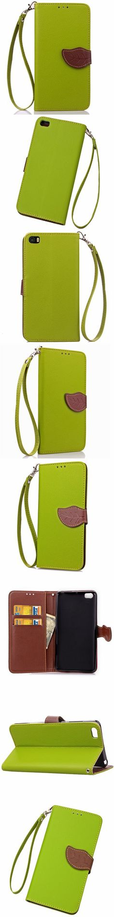 Love Leaf Card Lanyard Pu Leather for Xiaomi NOTE -$6.07