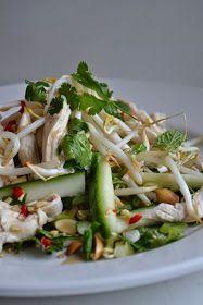 Eet lekker: Vietnamese kipsalade met munt en koriander