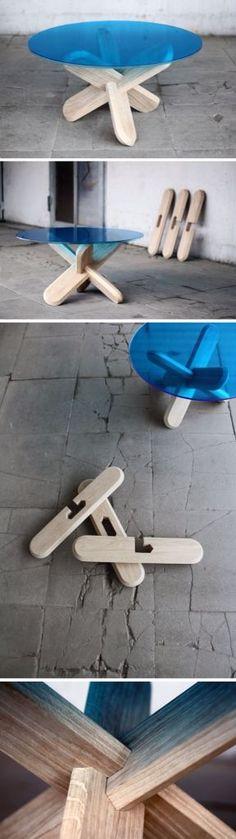 X table. O Cruz Gaudiana.  #IsmaelArce #ArchDesigner: