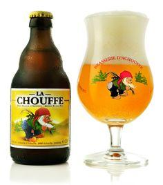 La Chouffe Belgian beer