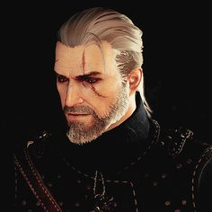 Geralt Of Rivia-the witcher Witcher 3 Geralt, Witcher Art, Ciri, The Witcher Books, The Witcher Game, Witcher 3 Wild Hunt, Short Change Hero, White Wolf, Fantasy Series