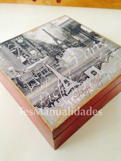 Tea box by Tes Manualidades Mexico