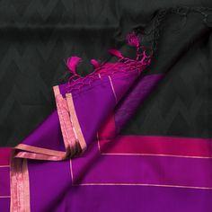 Sailesh Singhania Handwoven Organza Silk Sari 1002008 - Sari / All Saris - Parisera