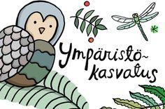 Verkkolehti Ympäristökasvatus ilmestyy Ympäristökasvatusjärjestö FEE Suomen julkaisemana 3 kertaa vuodessa. Opi, Kids, Fictional Characters, Historia, Young Children, Boys, Children, Kid, Fantasy Characters