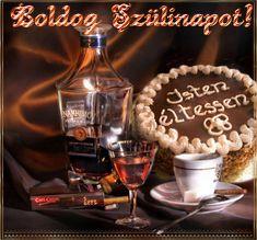 Lady Moon uploaded this image to 'Koszono kartyak/Szulinapi'. See the album on Photobucket. Happy Birthday Wishes, Birthday Cards, Name Day, Cool Websites, Origami, Moon, Lady, Album, Facebook