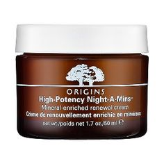 Origins - High Potency Night-A-Mins™ Mineral-Enriched Renewal Cream #sephora,- every night on my face and smell of the cream is great.