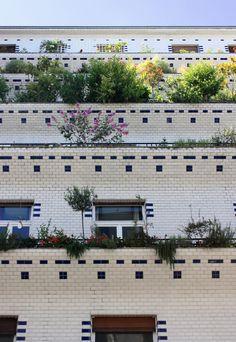 Immeuble à Gradin par Henri Sauvage, Rue Vavin Paris 8