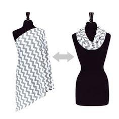 Itzy Ritzy Breastfeeding Scarf ($20): Wear it as a fashion accessory and use it as a breastfeeding scarf.