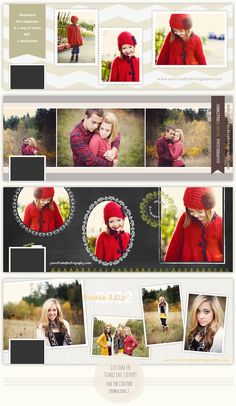 Free Custom Christmas Timeline Covers - News & Musings - Photographer Photoshop Templates and Marketing Materials Photography Templates, Free Photography, Photoshop Photography, Facebook Cover Template, Facebook Timeline Covers, Photography Marketing, Photography Business, Christmas Photography, Free Photoshop