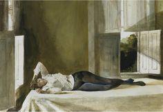 Reste de beauté de Andrew Wyeth (1917-2009, United States)