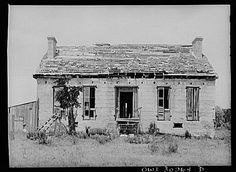 Port O'Connor, Texas. House of shell construction, built about 1850 by Irish settlers