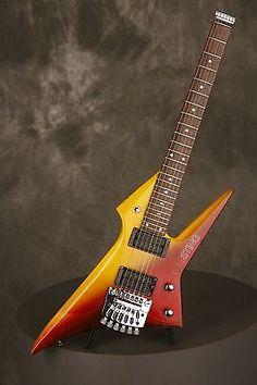 RARE 1980's Hondo THE STING headless guitar made in Japan