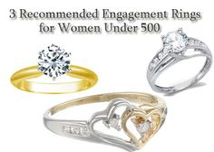 Cheap Engagement Rings for Women Under 500