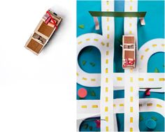 Paper Illustrations for The New Yorker / Journeys Issue on Behance