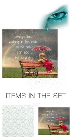 """""""Rain  by  K"""" by e-kandgang ❤ liked on Polyvore featuring art"""