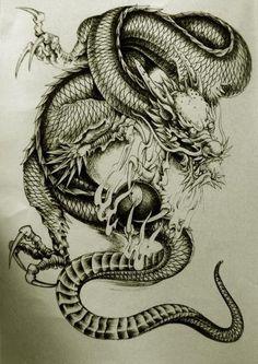 dragon TATTOO - Buscar con Google