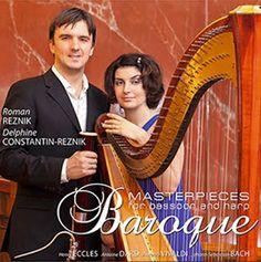 Den Klassiske cd-bloggen: Fagott, harpe og barokk