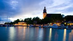 Naantali (Finland) Places To Travel, Places To Visit, Travel Bugs, To Go, Birches, Country, Seas, Building, Wanderlust