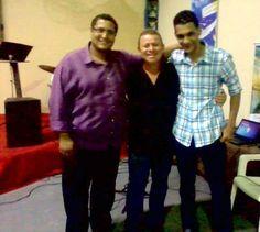 David Nascimento , Robson e Gabriel Rodrigues