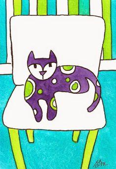 this makes me smile alarmcat studio: cats