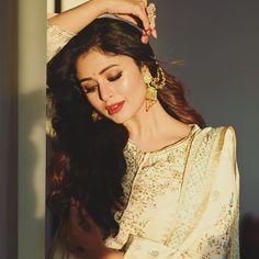 Bridal Portraits, Ruffle Blouse, Sari, Actresses, Women, Beautiful, Tops, Fashion, Saree