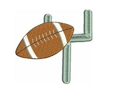 Football - 4x4 | Football | Machine Embroidery Designs | SWAKembroidery.com Fancy Fonts Embroidery