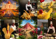 New inspirations for amazing landscapes made of food!