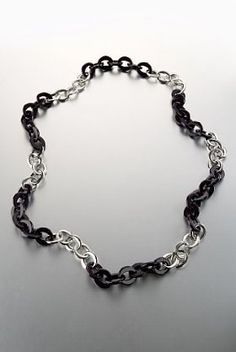 This Limited Collection two tone chain link necklace for those weekend outfits.