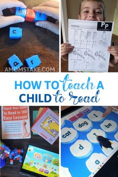 How to Teach a Child to Read Kids Learning Activities, Educational Activities, Family Activities, At Home Science Experiments, Science Fair, Online Reading Programs, Reading Eggs, Worksheets, New School Year
