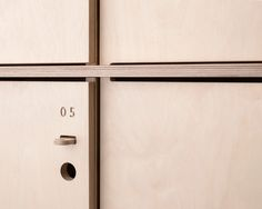 Fin Lockers detail by Scarlett San Martin for http://opendesk.cc