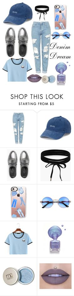 """""""Denim Dream"""" by emerald-roses on Polyvore featuring Topshop, SO, Max&Co., Boohoo, Casetify and Jeffree Star"""