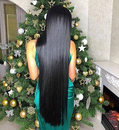 gorgeous long silky