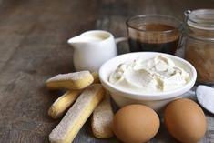 Tiramisu cu cafea și Marsala Marsala, Tiramisu, Pudding, Breakfast, Desserts, Mascarpone, Flan, Marsala Wine, Postres