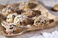 Recepty: Pusinky z ovsených vločiek a sušeného ovocia - ZN. Cereal, Cookies, Breakfast, Cake, Desserts, Christmas, Food, Crack Crackers, Morning Coffee