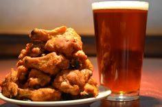 Beer and wings from Remington Park's Bricktown Brewery!