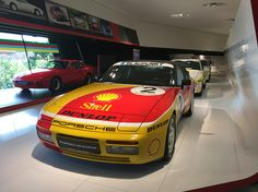Porsche 944 turbo cup car at the museum