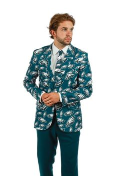 Pre-Order - The Philadelphia Eagles Suit Jacket - Delivery by October | Shinesty